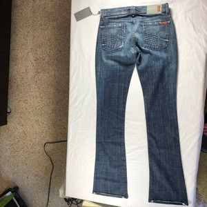 7 For All Mankind Jeans - 7 for all Mankind RARE Quilt Pocket Rocker SCL 27